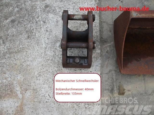Schaeff SWE HR14 mit 2 Löffeln