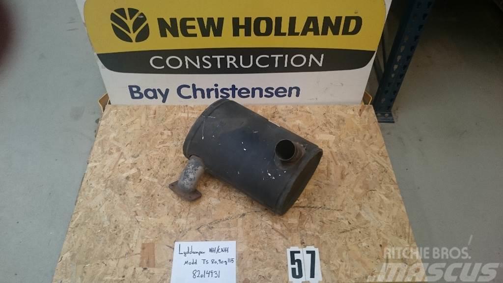 New Holland lyddæmper