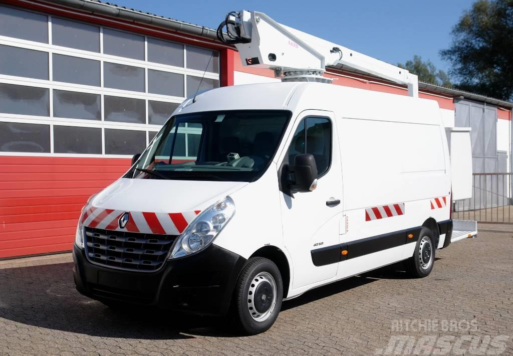 Renault Master 125 Arbeitsbühne EN120TF1 12m E5 TÜV UVV