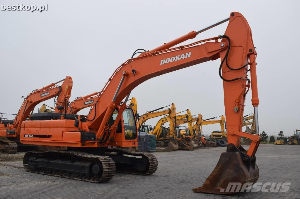 Doosan DX 340 LC