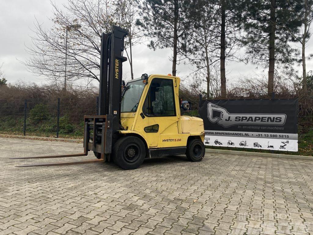 Hyster 5.00XM 5 tons LPG heftruck Vorkversteller