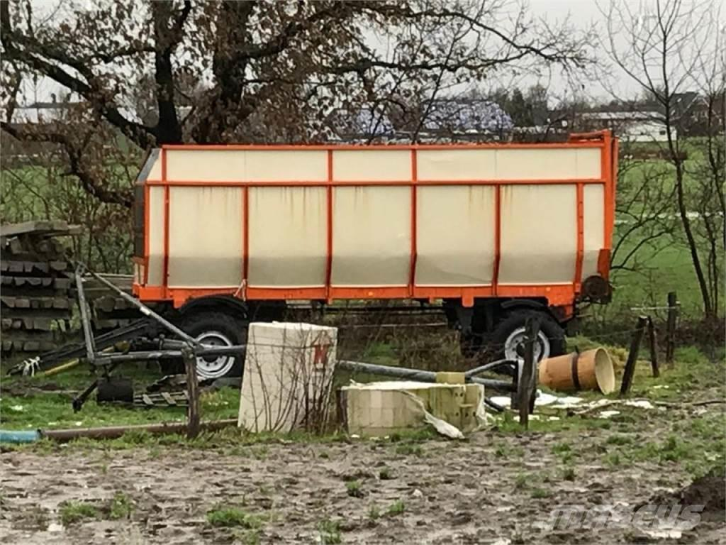 Hawe 2-Achs Abfahrwagen Eigenbau