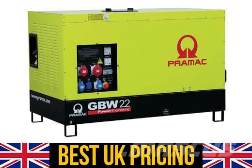 Pramac GBW 22KVA Perkins UK Genset for House (Auto Start)