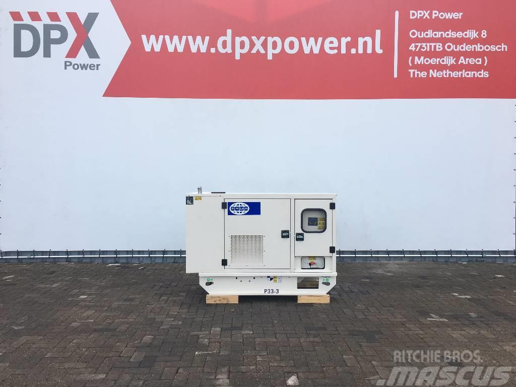 FG Wilson P33-3 - 33 kVA Generator - DPX-16003