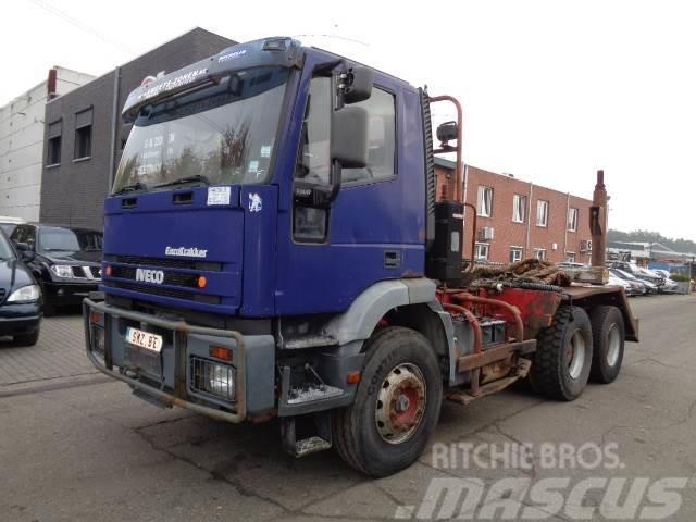 Iveco Eurotrakker 720 E 47 lourd chassis heavy no 380e42