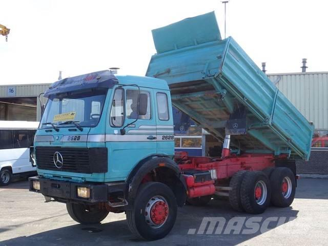 Mercedes-Benz 2628 Kipper 6x6 V8 ZF TOP CONDITION