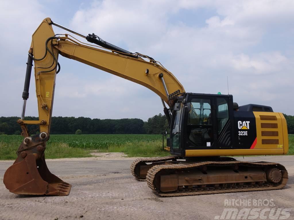 Caterpillar 323EL (GOOD WORKING MACHINE)