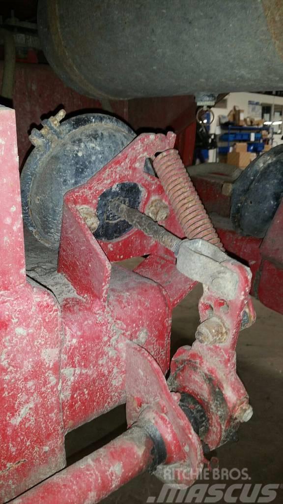 VGM Luchtremmen voor dumper, Bromsar