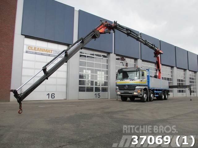Mercedes-Benz Actros 4140 8x4 Palfinger 44 ton/meter Kran (Year