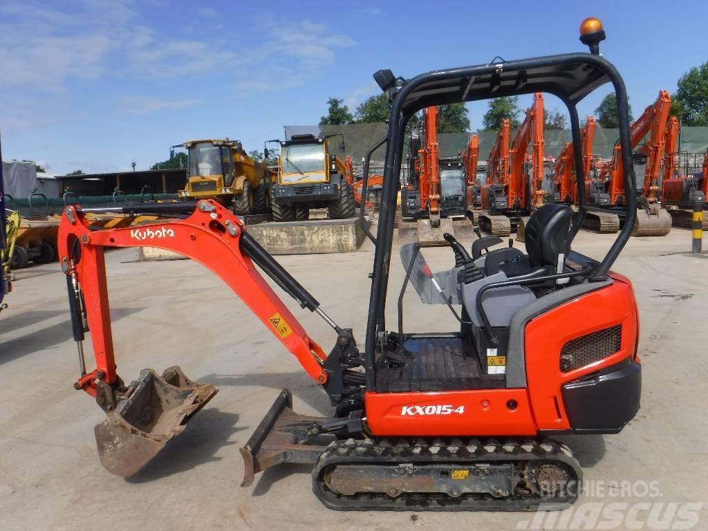 Kubota KX 015-4, 2014, Mini Excavators <7t (Mini Diggers) ...