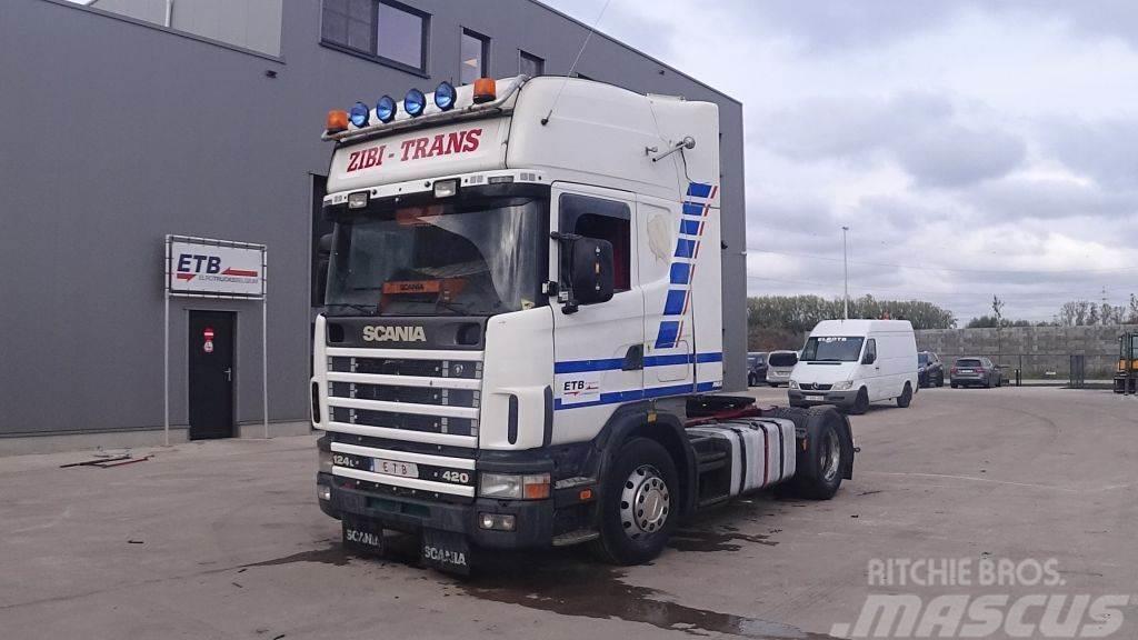 Scania 124 - 420 Topline (MANUAL GEARBOX / BOITE MANUELLE