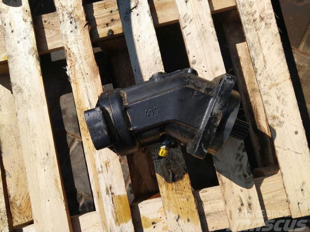 Rexroth Hydraulic pump hydraulic engine pressure A2FM80/61