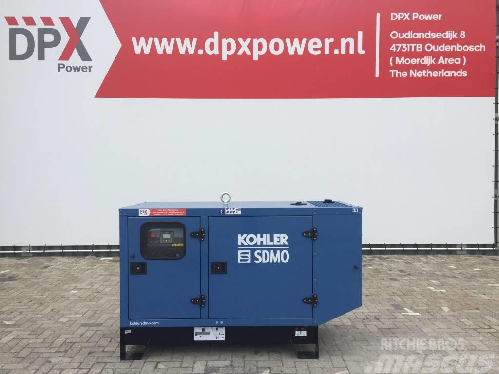 Sdmo J22 - 22 kVA Generator - DPX-17100