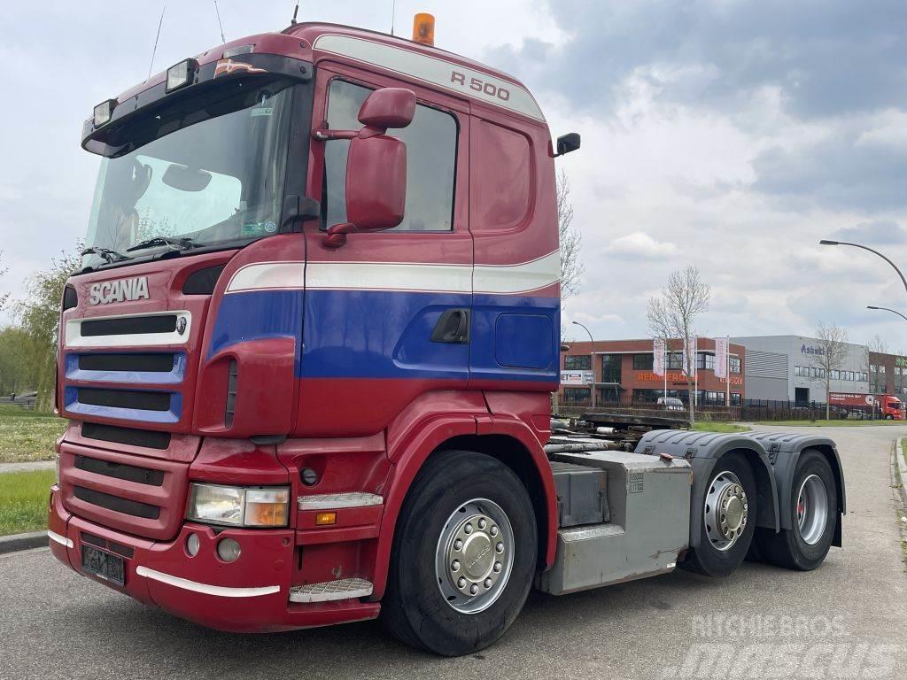 Scania R500-V8 Scania R500 old tacho/ PTO / twinsteer / 6