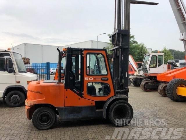 Doosan Heftruck, 5 ton diesel,