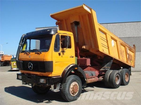 mercedes benz 2628 6x6 occasion prix 28 500 ann e d 39 immatriculation 1989 camion benne. Black Bedroom Furniture Sets. Home Design Ideas