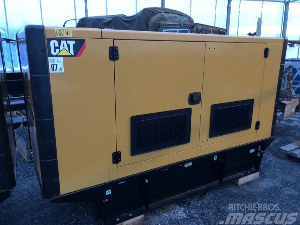 Caterpillar CAT 110kVA fabriksnytt elverk 169.000:-+m