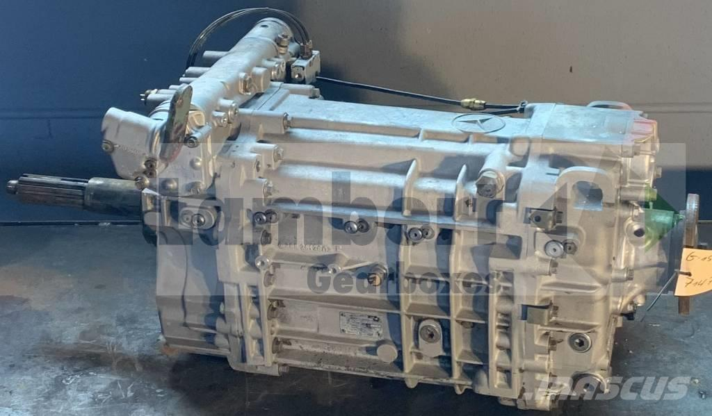 Mercedes-Benz G155-16 714704 714710 Getriebe Gearbox Mercedes SK