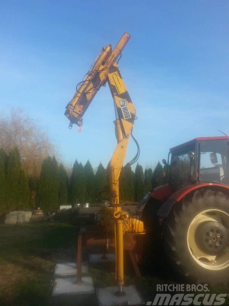 Hiab traktorra szerelhető 650 Foco