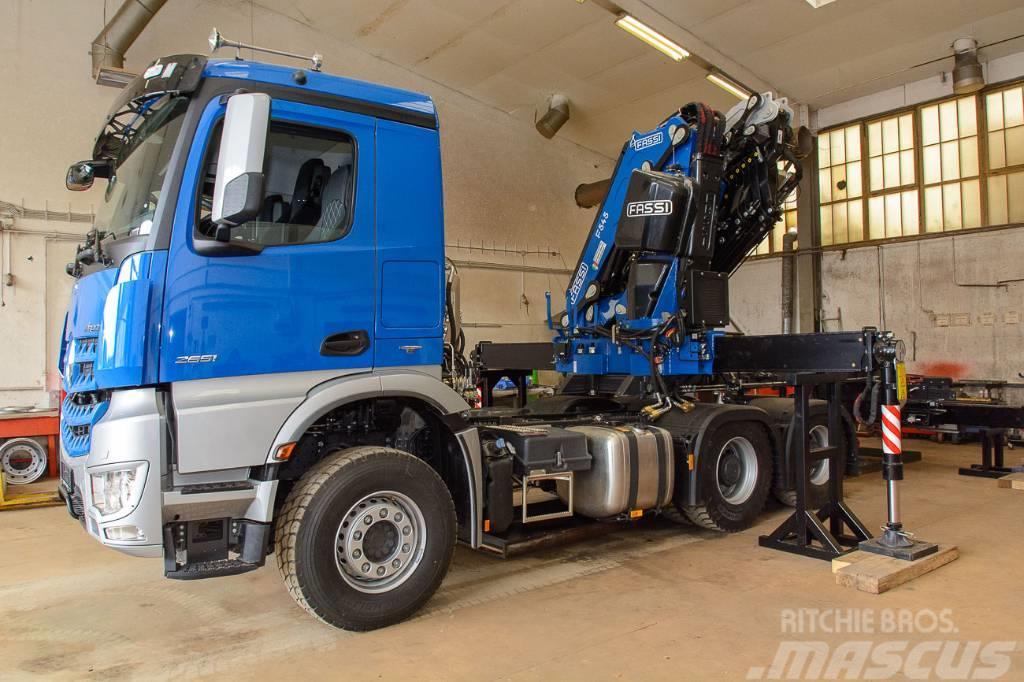 Used mercedes benz arox 3351 6x6 crane trucks year 2018 for Used mercedes benz trucks for sale in germany