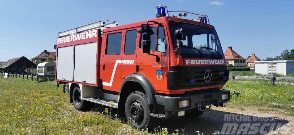 Mercedes-Benz Feuerwehr TLF Autobomba Firetruck 4x4