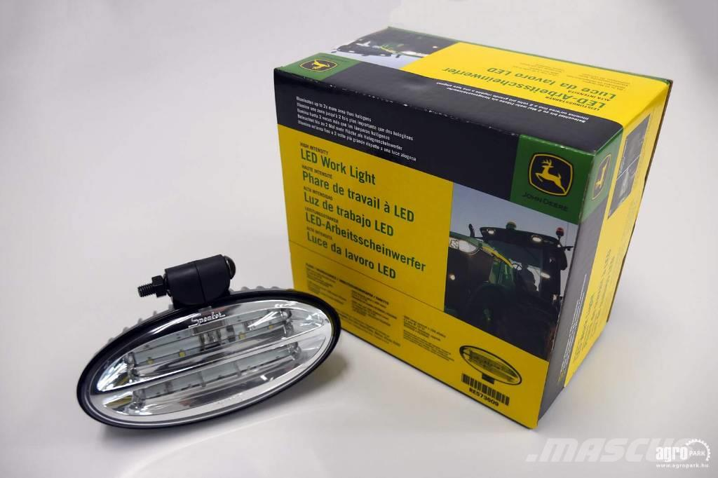 John Deere New LED work light, Twice the range and 20 times