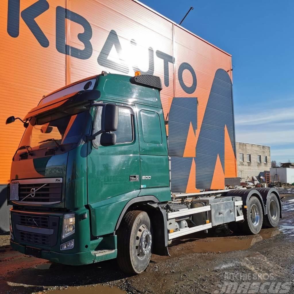 Volvo Trucks FH 500 6x2 FULL STEEL !