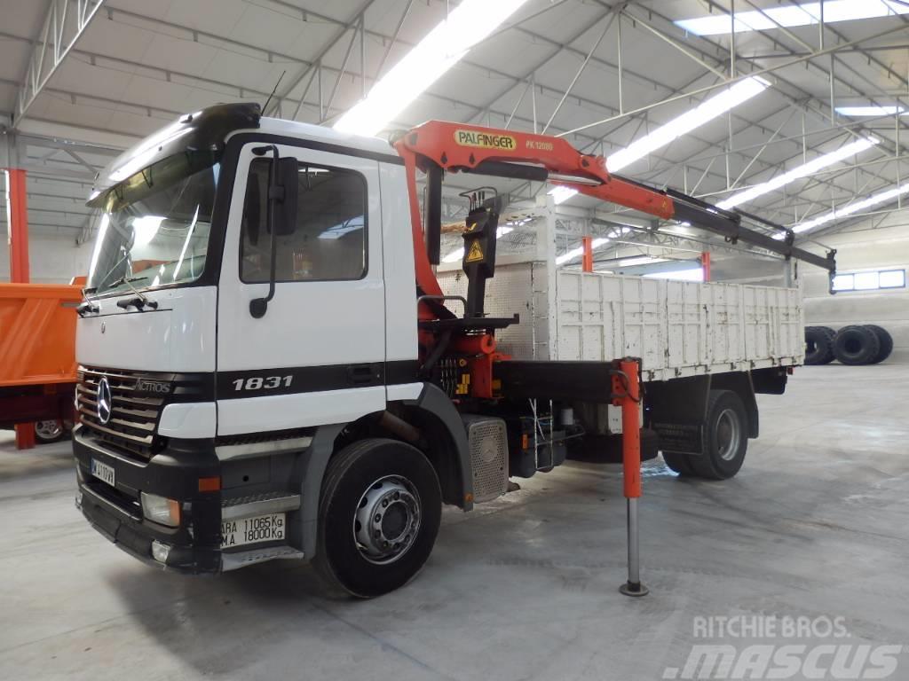 Mercedes benz actros 1831 k tipper trucks year of mnftr for Mercedes benz actros for sale