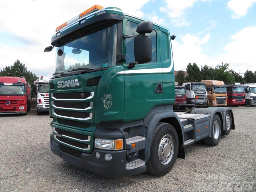 Scania R490 6x2 Euro 6 - Hydraulik