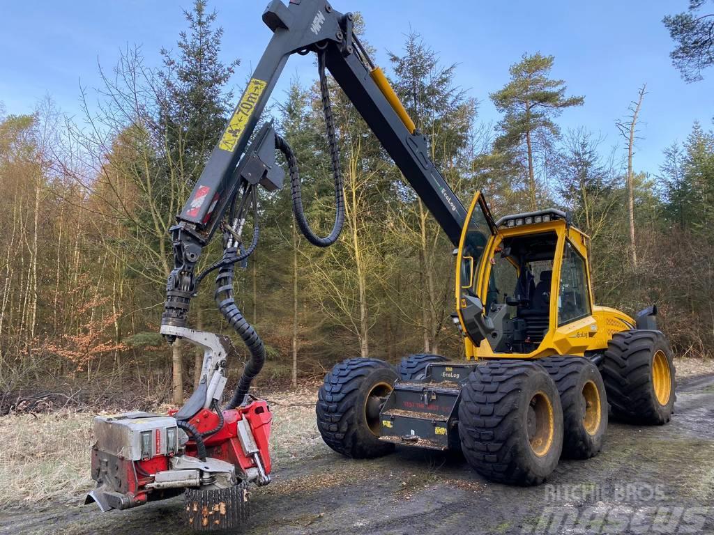 Eco Log 580E mit Logmax 6000B - Gebrauchtmaschine