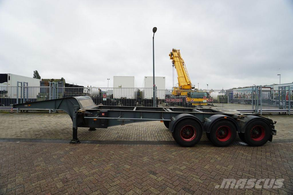 Burg BPO 12-24 CZD 20FT CONTAINERCHASSIS