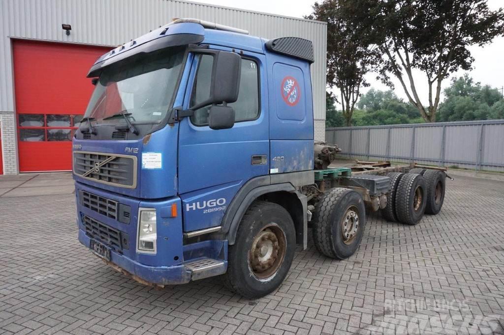 Volvo FM12-420 / 8X4 / FULL STEEL / BIG AXLE / MANUAL /