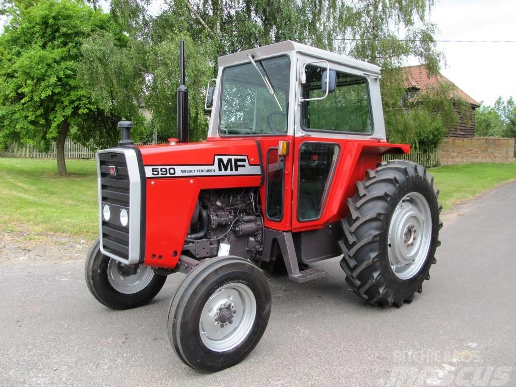 Massey Ferguson 590 til salg - Brugte Massey Ferguson 590 Brugte traktorer - Mascus Denmark