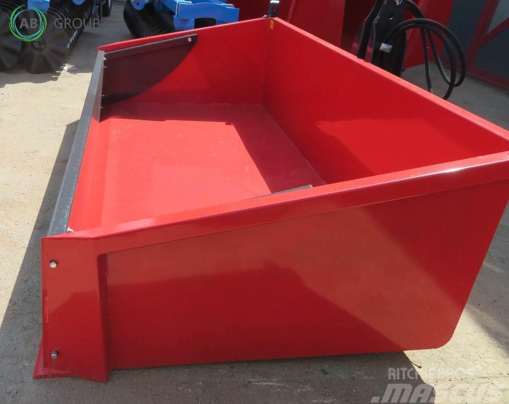 Inter-Tech hydraulic loading chest 2.4/ Kippmulde/plataforma