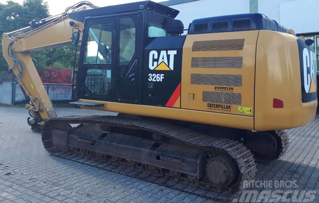 Caterpillar 326FLN,perfect condition, factory CE
