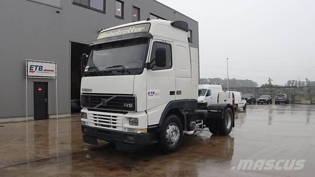 Volvo FH 12.380 FH 12 - 380 Globetrotter (MANUAL GEARBOX
