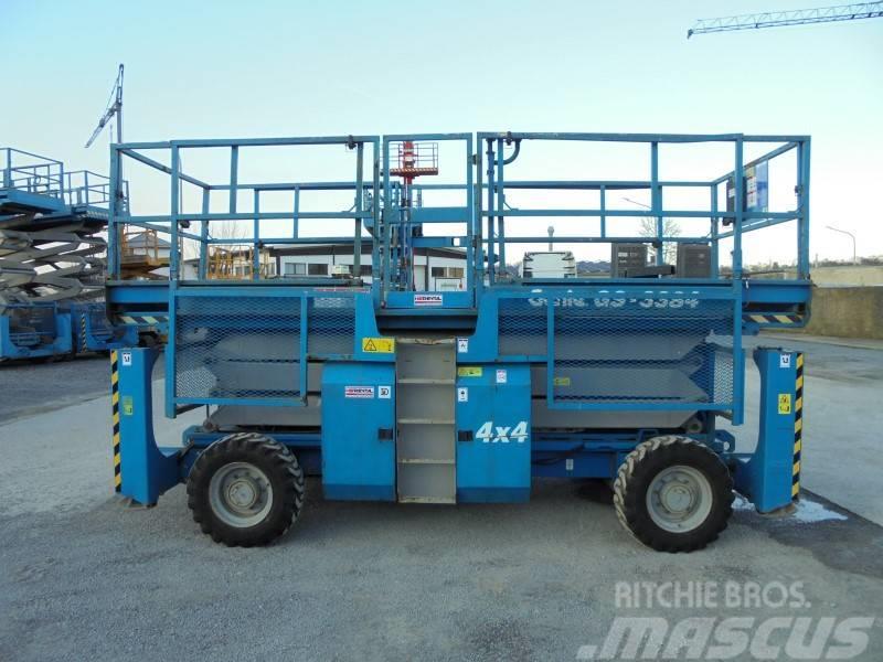 Genie GS3384RT diesel 4x4 12.05m