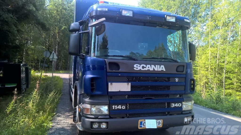 Scania P114 GB6X2NA 340