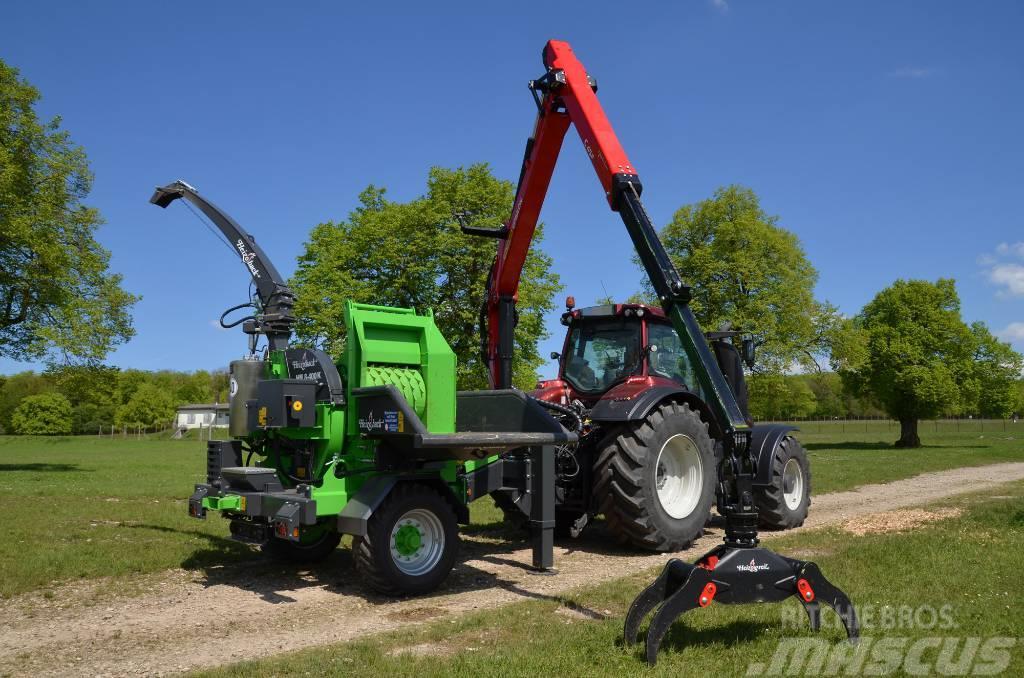 Heizohack 8-400K Crane Feed Drum Chipper