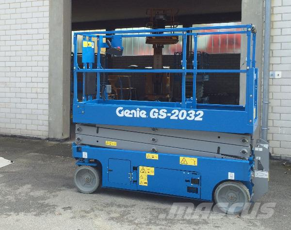 Genie GS2032, electric, 7,9m, demo, guarantee