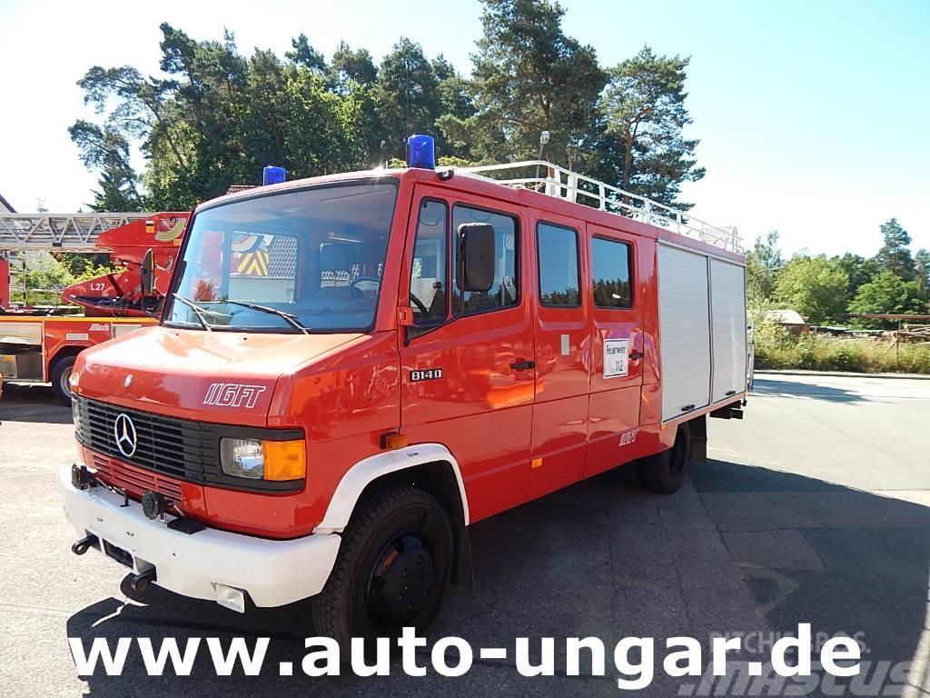 Mercedes-Benz 814 LF8/6 TLF 600Liter Wasser Heckpumpe Feuerwehr