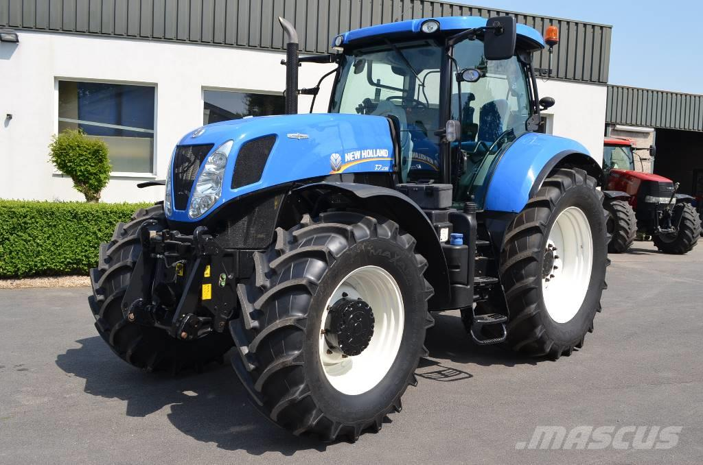 New Holland T 7.235 Autocommand