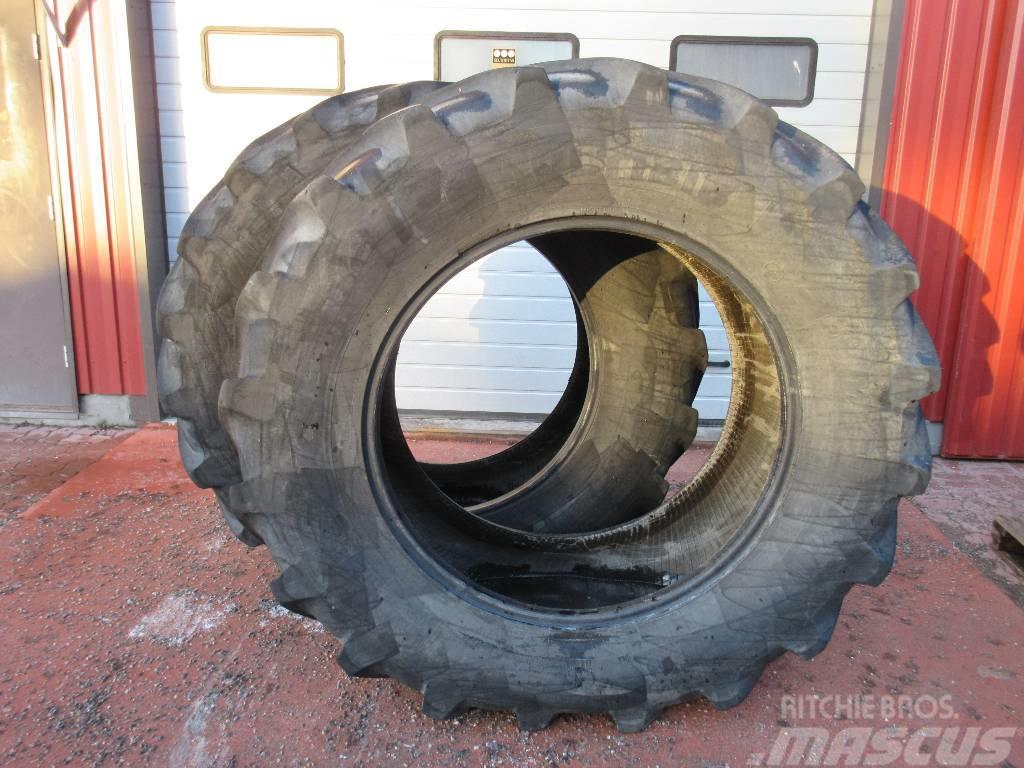 Michelin 600/65R38 käytetty rengaspari