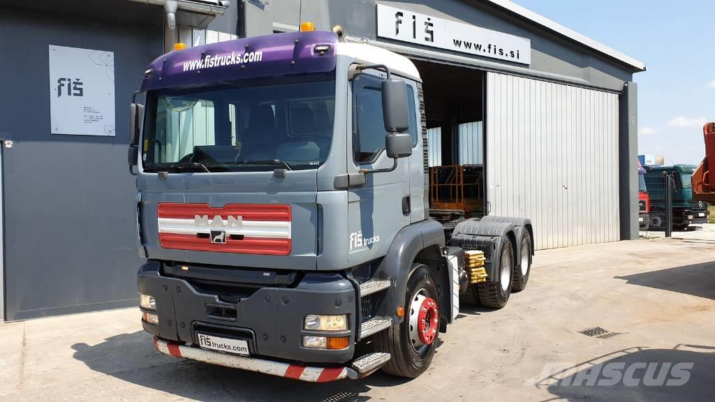 MAN TGA 33.390 6x4 tractor unit - SPRING