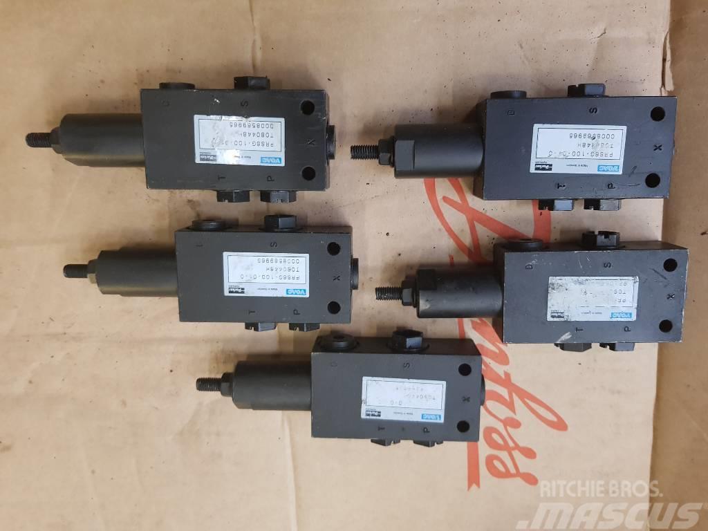 Ponsse Hydraulic Valves/Ventielen