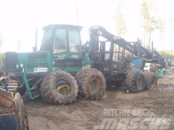 Timberjack 1710D Demonteras