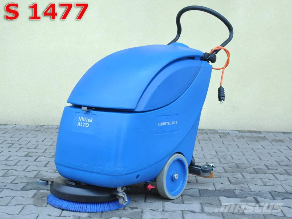 [Other] Scrubber Dryer NILFISK ALTO 343 E