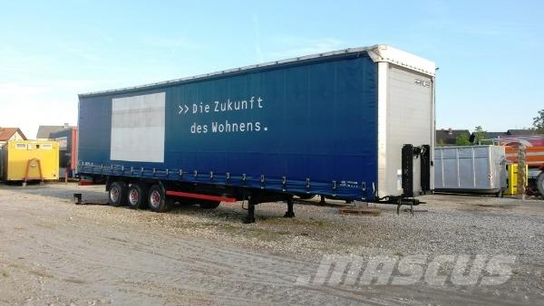 Kögel SN24 Mega Low, 2008, Kapelltrailer