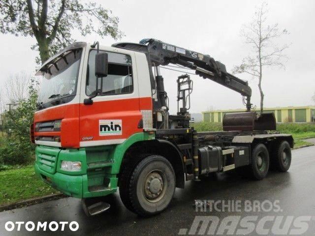 DAF Ginaf X3335 6x6 Hiab 166E3