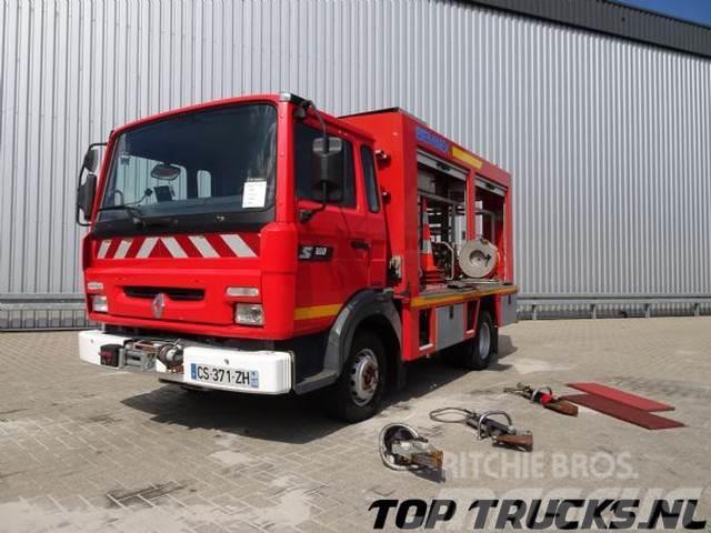 Renault S 180 Midliner, Calamiteiten truck, 20 KVA Electri
